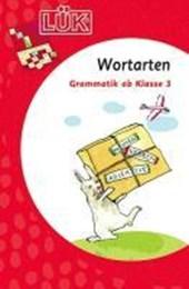 LÜK. Grammatik für die Grundschule. Wortarten ab Klasse