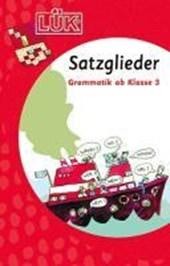 LÜK. Grammatik für die Grundschule. Satzglieder ab Klasse