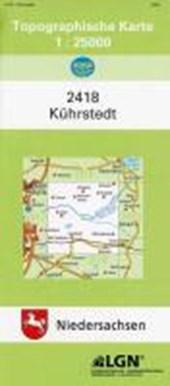 Kührstedt 1 : 25 000. (TK 2418/N)