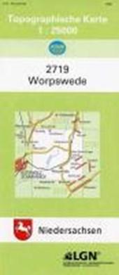 Worpswede 1 : 25 000. (TK 2719/N)