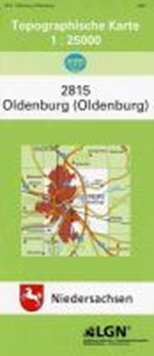 Oldenburg (Oldb.) 1 : 25 000. (TK 2815/N)