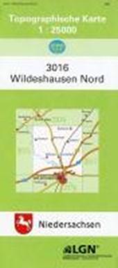 Wildeshausen Nord 1 : 25 000. (TK 3016/N)