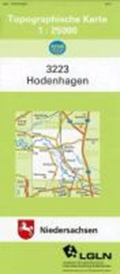 Hodenhagen 1 : 25 000. (TK 3223/N)