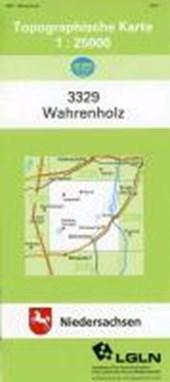 Wahrenholz 1 : 25 000. (TK 3329/N)