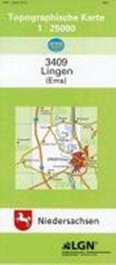 Lingen (Ems) 1 : 25 000. (TK 3409/N)