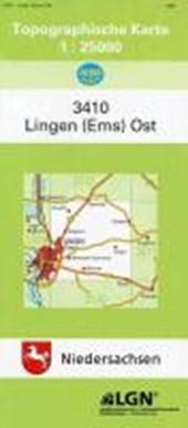 Lingen (Ems) Ost 1 : 25 000. (TK 3410/N)