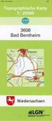 Bad Bentheim 1 : 25 000. (TK 3608/N)