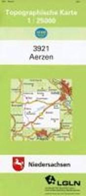 Aerzen 1 : 25 000. (TK 3921/N)