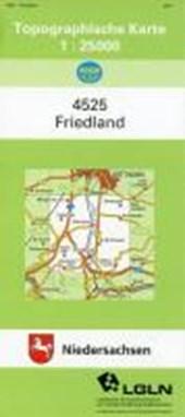 Friedland 1 : 25 000. (TK 4525/N)