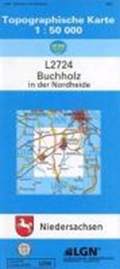 Buchholz in der Nordheide 1 : 50 000. (TK 2724/N)