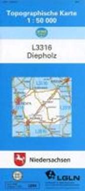 Diepholz 1 : 50 000. (TK 3316/N)