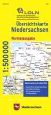 Übersichtskarte Niedersachsen 1 : 500 000. Normalausgabe