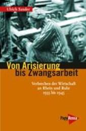Von Arisierung bis Zwangsarbeit