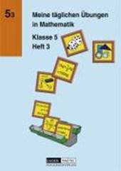 Meine täglichen Übungen in Mathematik Klasse 5 Heft