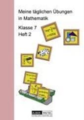 Meine täglichen Übungen in Mathematik Klasse 7 Heft