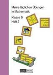 Meine täglichen Übungen in Mathematik Klasse 9 Heft