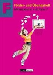 Förder- und Übungsheft Mathematik Klasse 7. Euro-Ausgabe