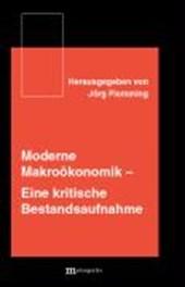 Moderne Makroökonomik
