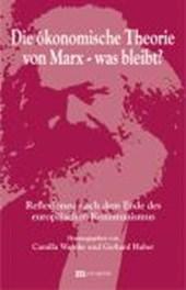 Die ökonomische Theorie von Marx - was bleibt?