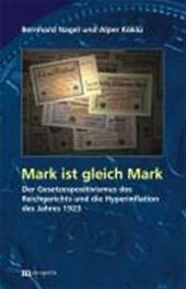 Mark ist gleich Markt