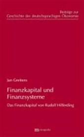 Finanzkapital und Finanzsystem