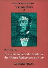 """Georg Weerth und das Feuilleton der """"Neuen Rheinischen Zeitung"""""""