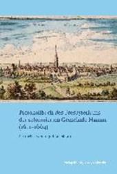 Protokollbuch des Presbyteriums der reformierten Gemeinde Hamm (1611-1664)