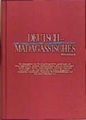 Deutsch - Madagassisches Wörterbuch