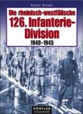 Die rheinisch-westfälische 126. Infanterie-Division