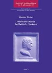 """Ferdinand Hands """"Aesthetik der Tonkunst"""""""