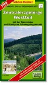 Westerzgebirge 1 : 35 000. Wander-, Ski- und Radwanderkarte
