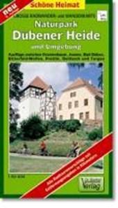 Radwander- und Wanderkarte Naturpark Dübener Heide und Umgebung 1 :