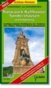 Naturpark Kyffhäuser, Sondershausen und Umgebung 1 : 35 000. Radwander-und Wanderkarte