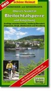 Oberes Saaletal, Bleilochtalsperre und Umgebung 1 : 35 000. Radwander- und Wanderkarte
