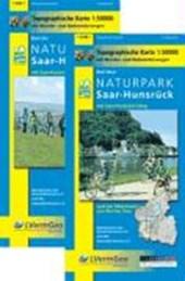 Naturpark Saar-Hunsrück Blatt West und Ost 1 :