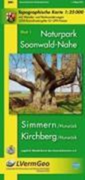 Naturpark Soonwald-Nahe Blatt 01. 1 : 25 000. Wanderkarte