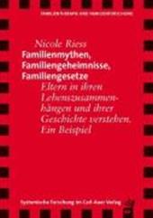 Familienmythen, Familiengeheimnisse, Familiengesetze