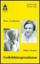 Rose Ausländer - Hilde Domin