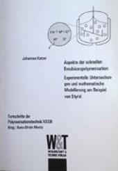 Aspekte der schnellen Emulsionspolymerisation :