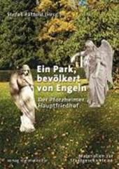 Ein Park, bevölkert von Engeln