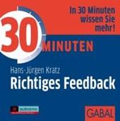 30 Minuten für richtiges Feedback