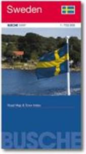Sweden 1 : 750 000 / 1 :
