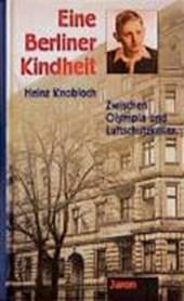 Eine Berliner Kindheit