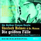 Sherlock Holmes und Dr. Watson. Die größten Fälle. 5 CDs