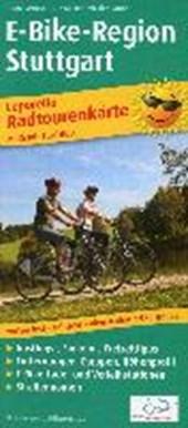 Radwanderkarte Leporello E-Bike-Region Stuttgart 1 :
