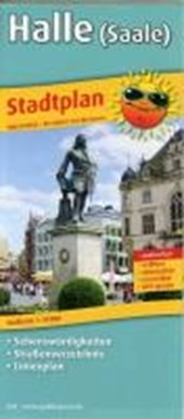 Halle (Saale) Stadtplan 1 :