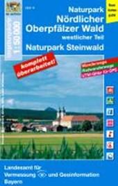 Naturpark Nördlicher Oberpfälzer Wald/West 1 : 50 000 ( (UK50-14))