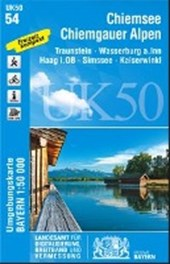 Chiemsee - Chiemgauer Alpen 1 : 50 000 (UK50-54)