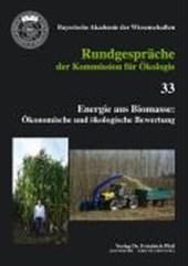 Energie aus Biomasse: Ökonomische und ökologische Bewertung