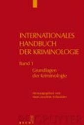 Internationales Handbuch der Kriminologie